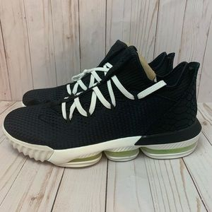 Lebron XVI 16 Low Volt Black Python Basketball